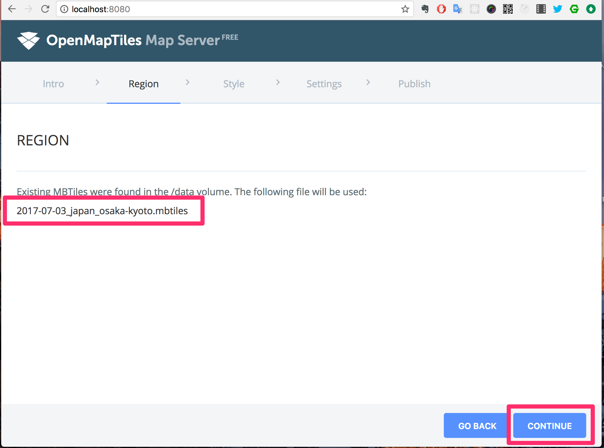 OpenMapTiles Map Server を使ってサイトに地図を埋め込む - Qiita