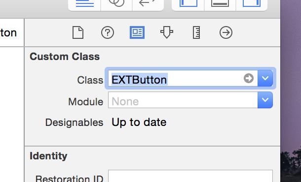Set EXTView class name