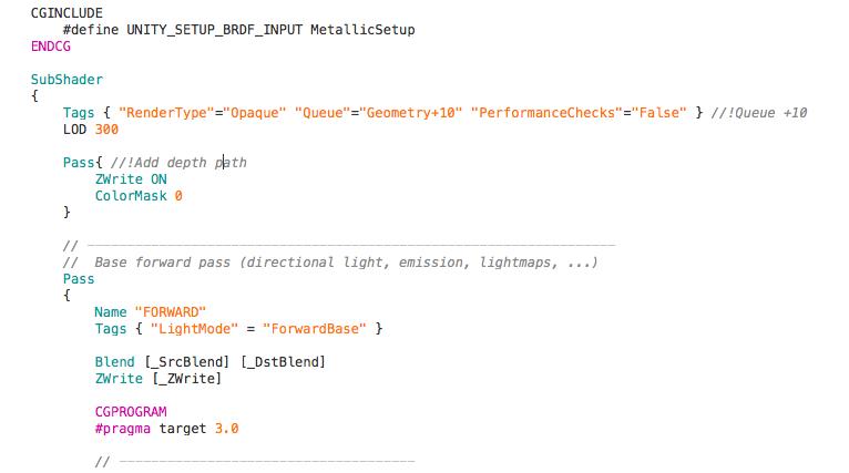 Unity スタンダードシェーダーで モデルを綺麗に半透明表示する