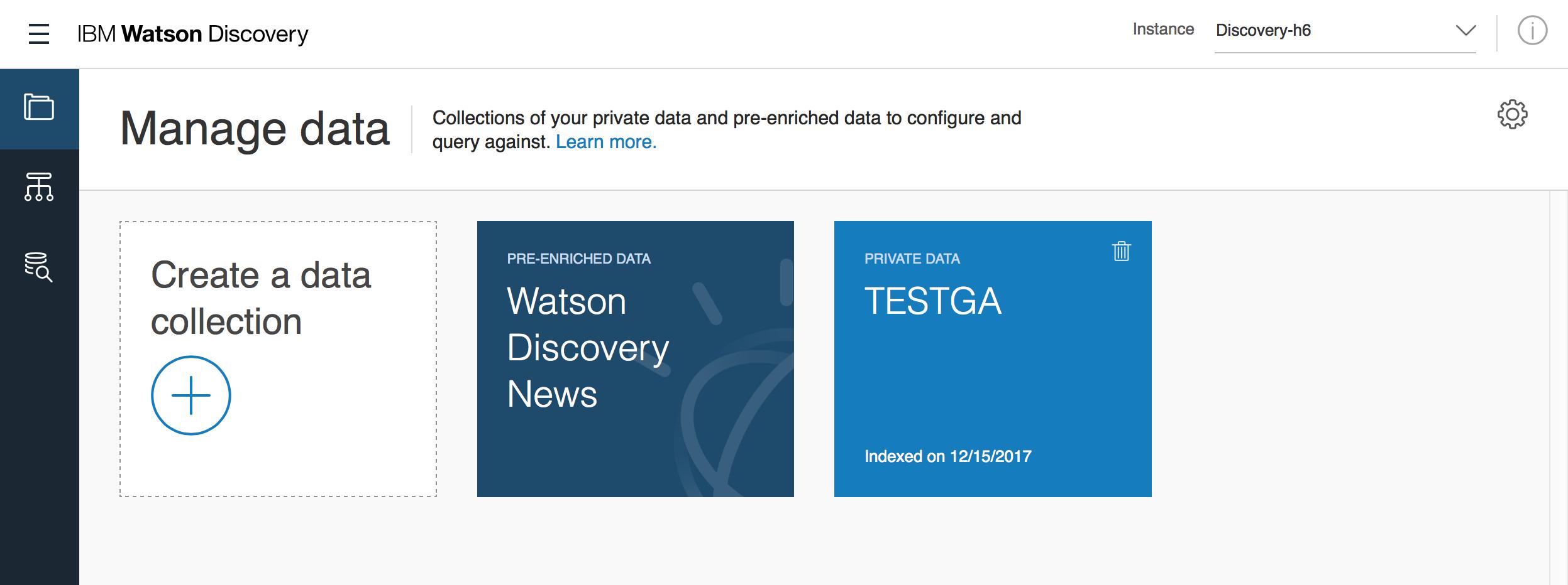 Watson Discoveryを触ってみた。 - Qiita