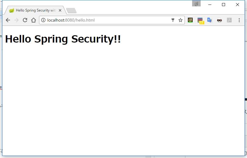 Spring Security 使い方メモ Spring MVC, Boot との連携 - Qiita